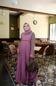 Ananda Dress Warna Purple