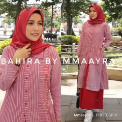 Bahira Set Rok Warna Red
