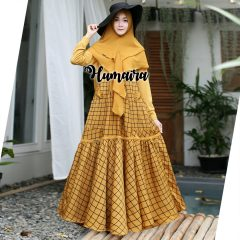 Khanza Syar'i Warna Yellow
