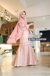 Line's Syar'i Warna Dusty Pink