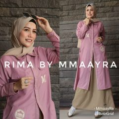 Rima Set Rok Warna Pink