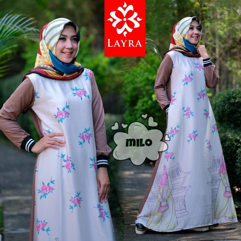 Safira Dress Warna Milo