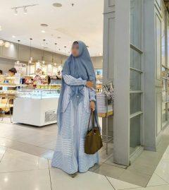 Zubaidah Syar'i Warna Blue