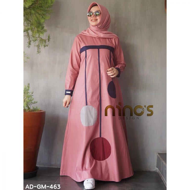 Dress 463 Warna Pink