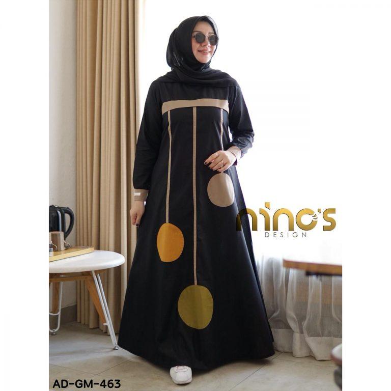 Dress 463 Warna Black