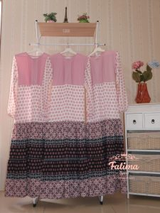 Mayra Etnik Daily Dress Warna Pink