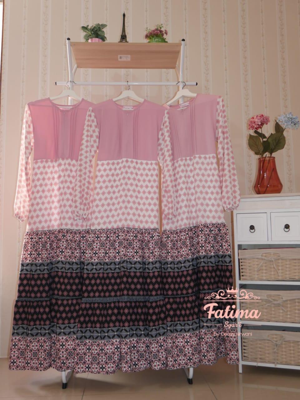 Mayra Etnik Daily Dress Warna Pink