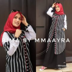 Rima Set Rok Warna Black