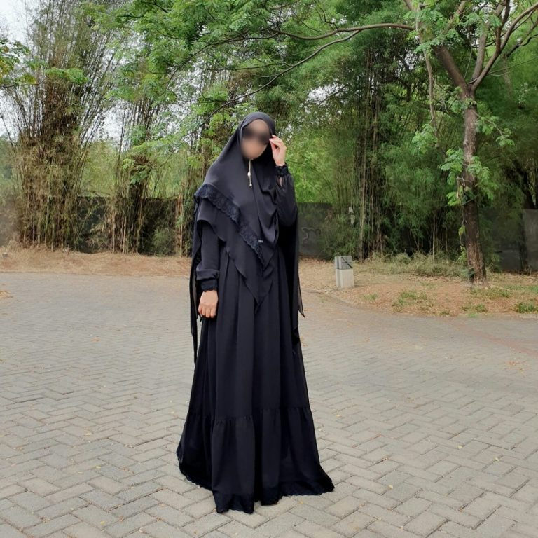 Shafiyah Syar'i Warna Black