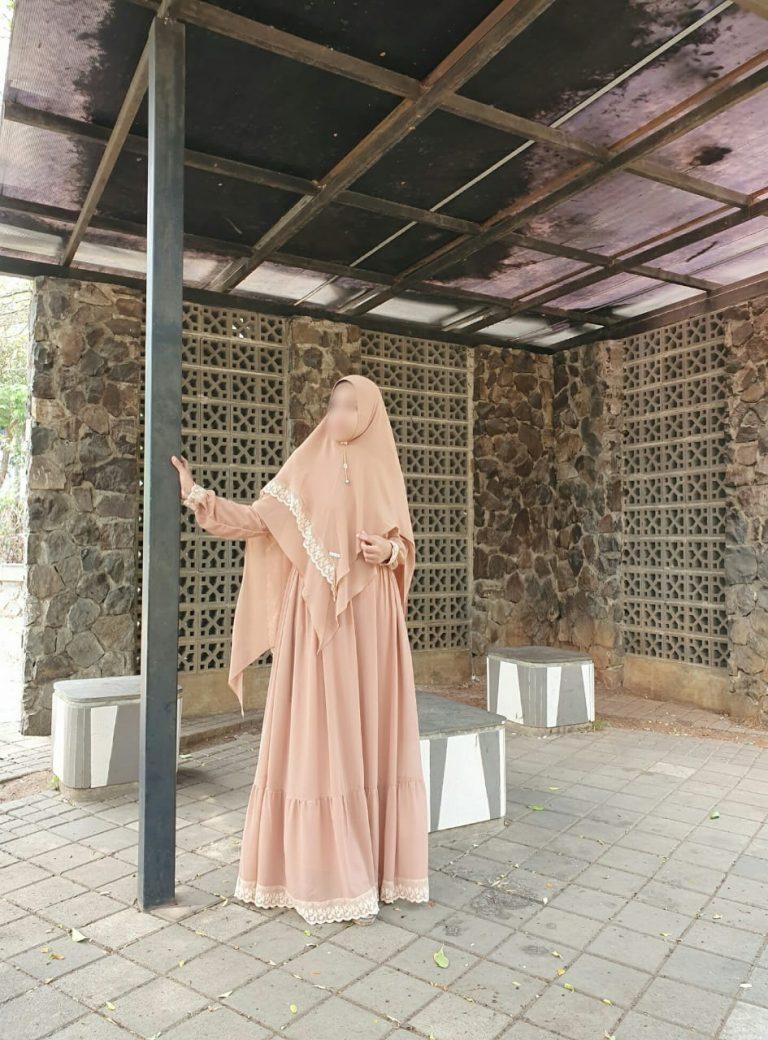 Shafiyah Syar'i Warna Coklat Susu