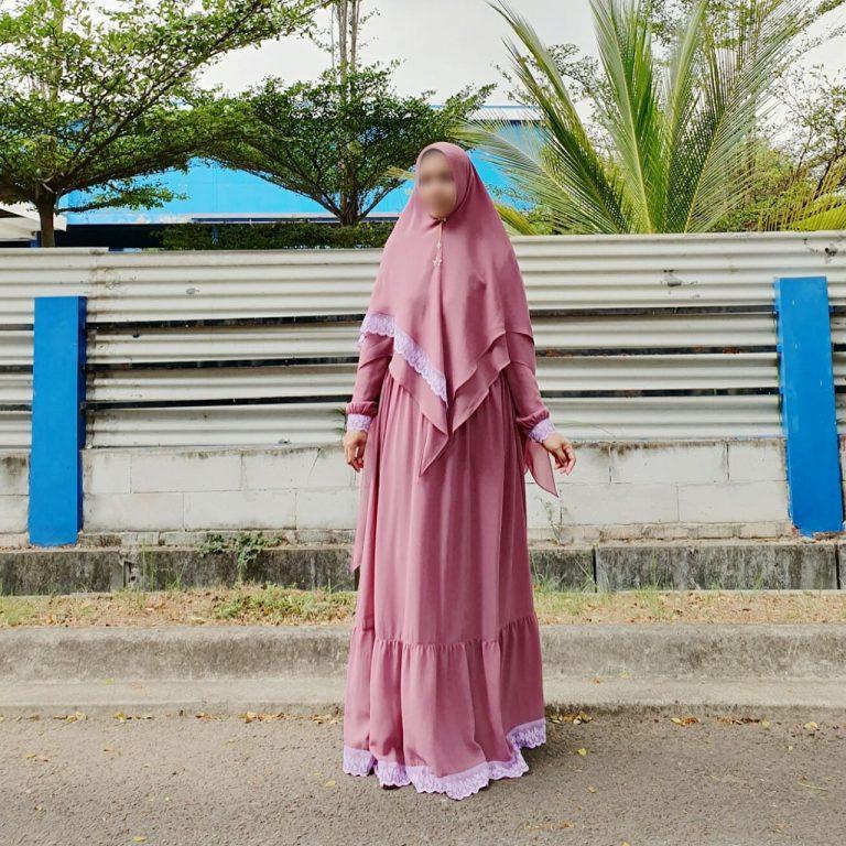 Shafiyah Syar'i Warna Pink