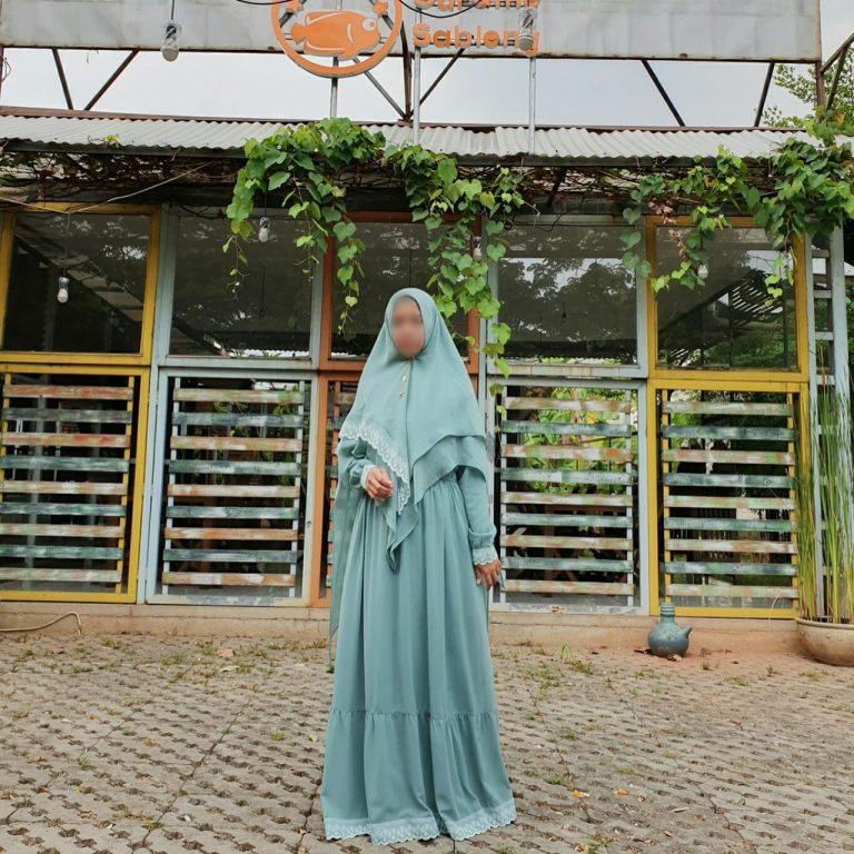 Shafiyah Syar'i Warna Tosca