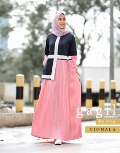 Vionala Dress Warna Pink