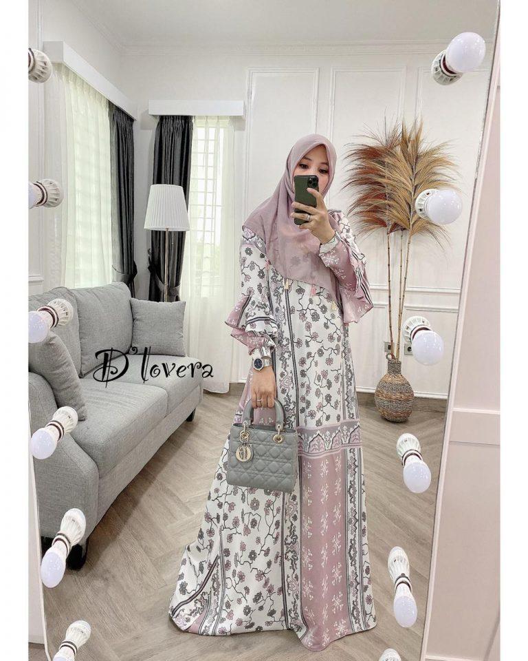 Andara Dress Warna Soft Purple
