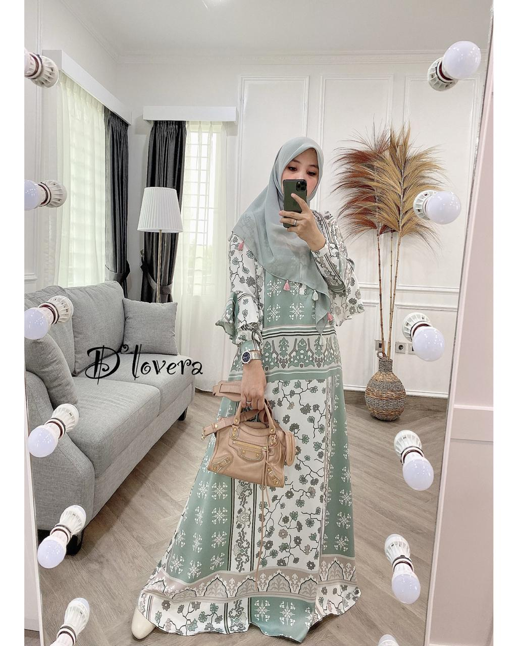Andara Dress Warna Tosca