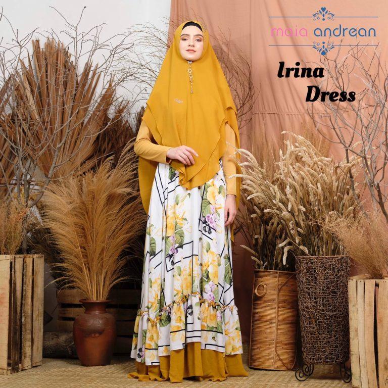 Irina Dress Warna Yellow