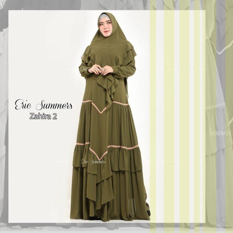 Zahira Syar'i 2 Warna Olive