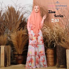 Ziva Dress 03 Warna Orange