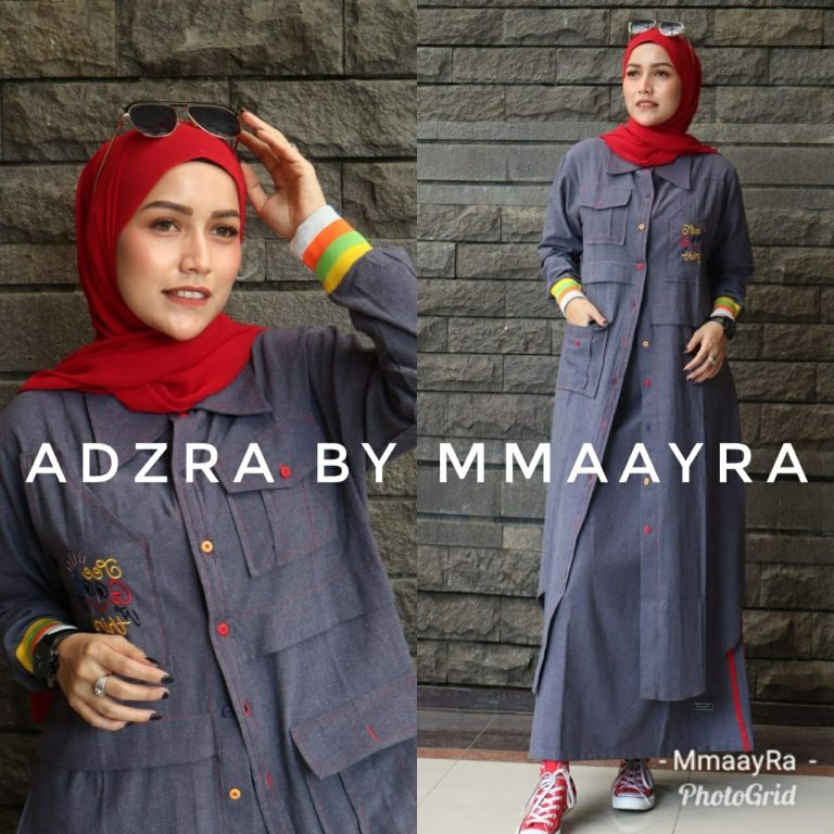 Adzra Set Warna Red