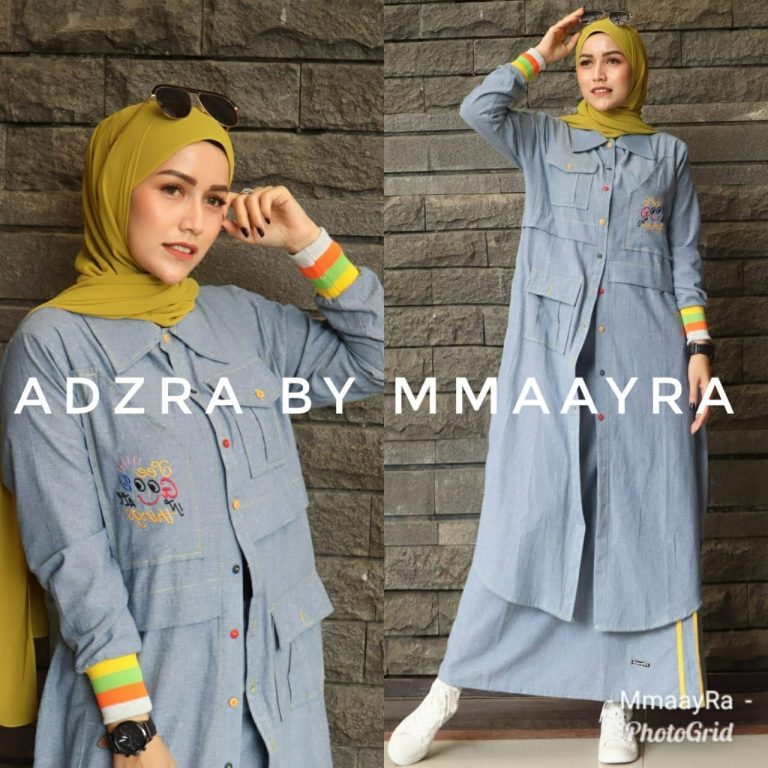 Adzra Set Warna Yellow