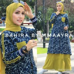 Bahira Set New Warna Blue