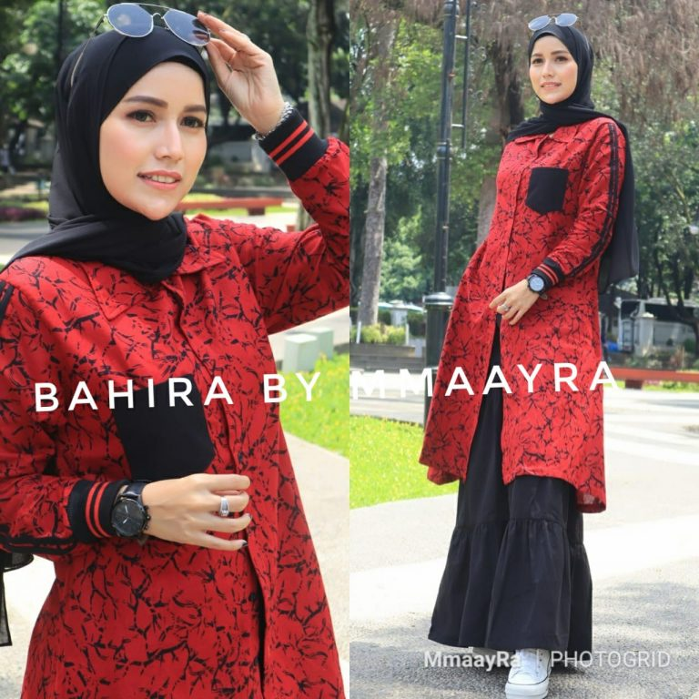 Bahira Set New Warna Red