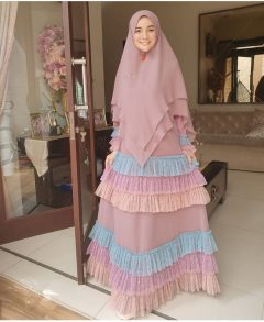Feeya Syari Warna Rosy Brown