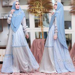 Karimah Syari Warna Blue