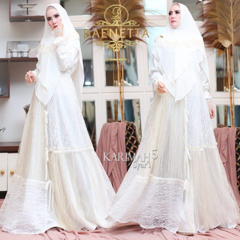 Karimah Syari Warna White