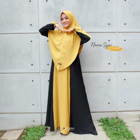 Naima Dress Warna Kenari