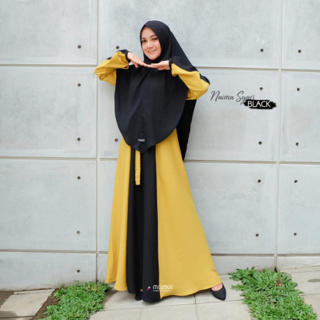 Naima Dress Warna Black