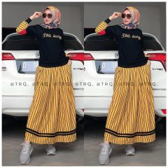 Set Rok Salur Warna Black Yellow