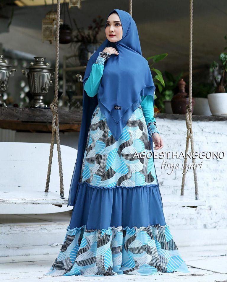 Tisye Syari Warna Blue