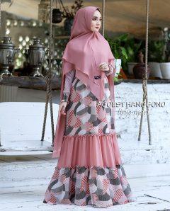 Tisye Syari Warna Pink