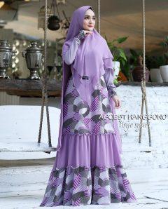 Tisye Syari Warna Purple