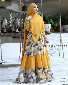 Tisye Syari Warna Yellow