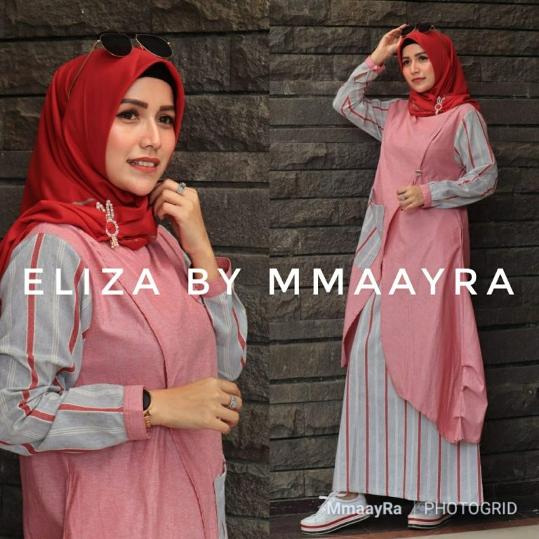 Eliza Set Warna Red