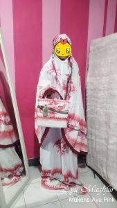 Mukena Bunga Ayu Warna Pink