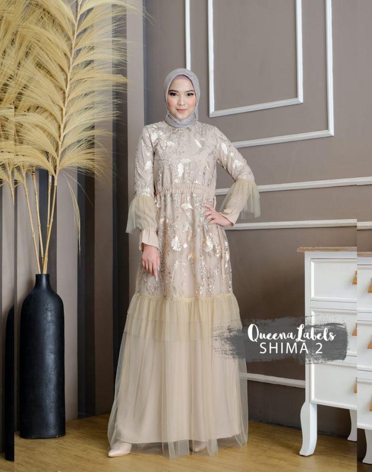 Shima Dress Vol 2 Warna Cream