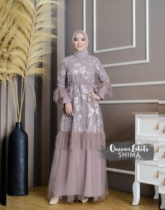 Shima Dress Warna Coffee