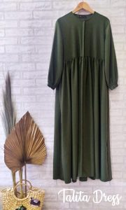 Talita Dress Warna Army