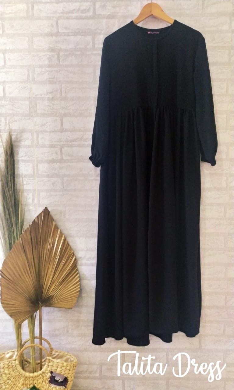 Talita Dress Warna Black