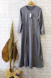 Allyn Dress Warna Grey