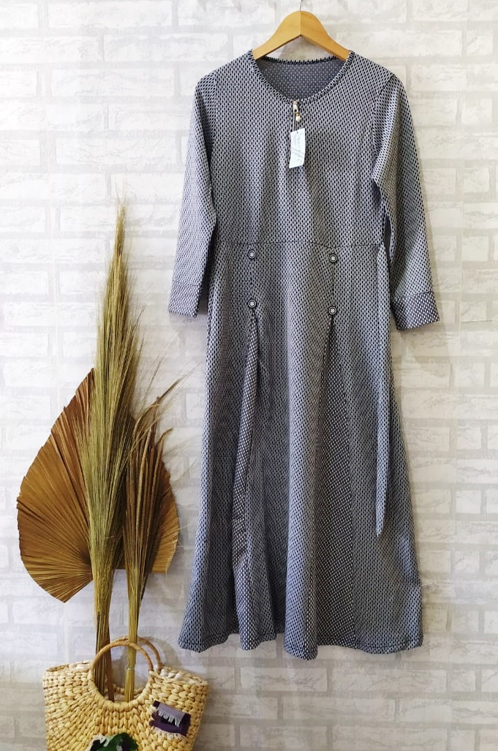 Allyn Dress Warna Grey