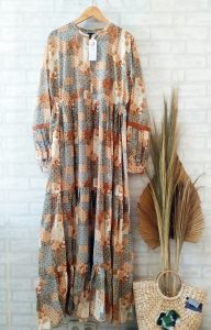 Zara Dress Warna Orange