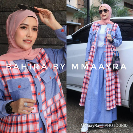 New Bahira Warna Peach