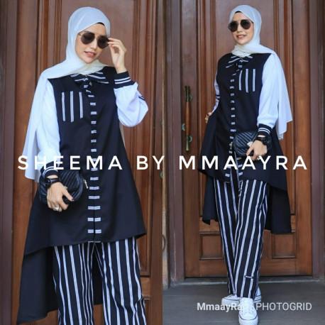Sheema Set Warna Black