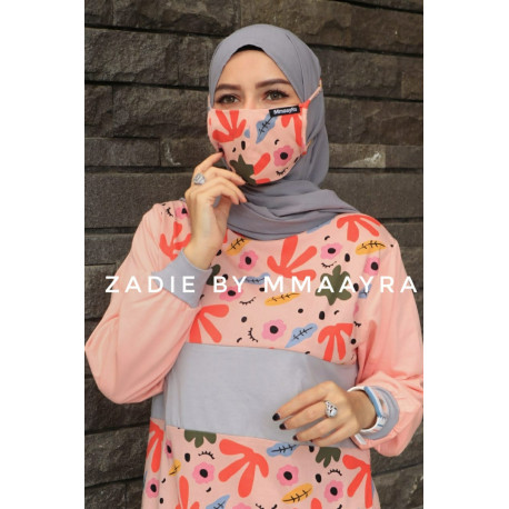 Zadie Tunik New Warna Peach