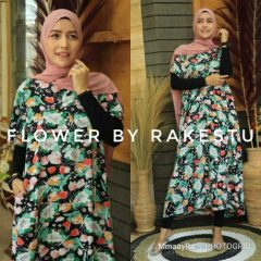 Flower Daster Warna Green