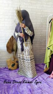 Naina Dress Warna Cream